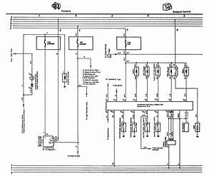 Color Code Wiring Diagram For The Alternator Plug 1981