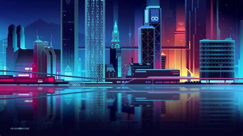 incredible urban skyline illustrations