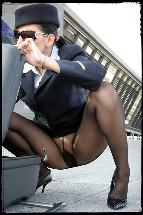 Flight Attendant Pantyhose Sex Sex Porn Images
