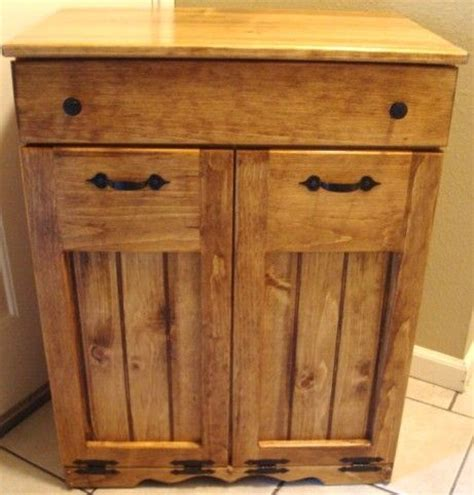 double barrel cabinet   home food storage