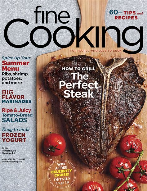 december january  magazine issue finecooking