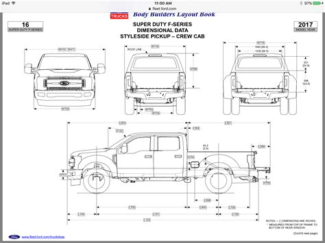 ford   dimensions    cars