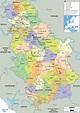 Serbia Map - TravelsFinders.Com