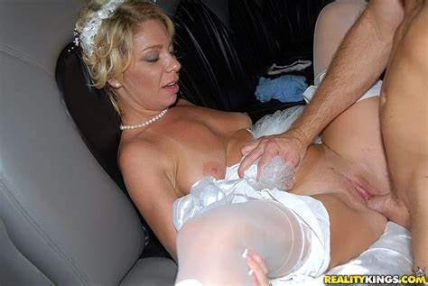 Milf Cheats Kitchen Her Wedding