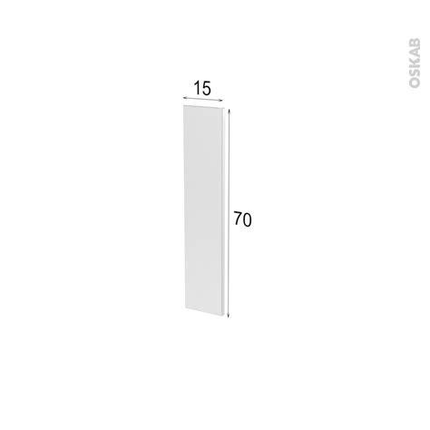 facade porte de cuisine façade de cuisine porte n 17 ginko taupe l15 x h70 cm oskab