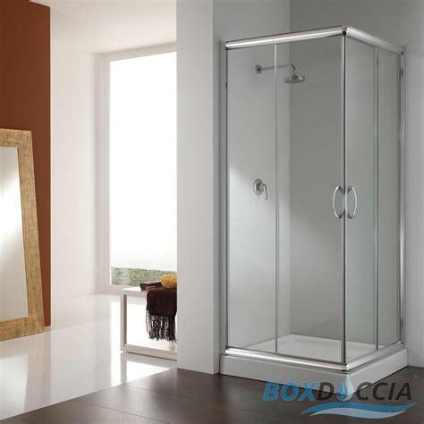 chiusura doccia scorrevole box cabina doccia bagno vetro chiusura angolare cristallo