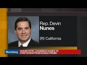 Rep. Nunes Recuses Himself From House Russia Probe - YouTube