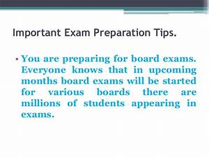 QUOTES BOARD EX... Preparing Exam Quotes