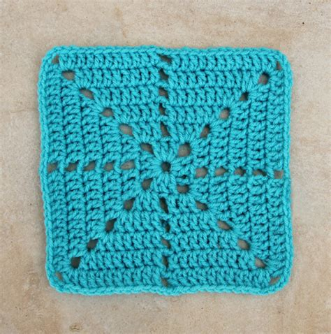 crochet squares simple filet crochet starburst square pattern creative jewish mom
