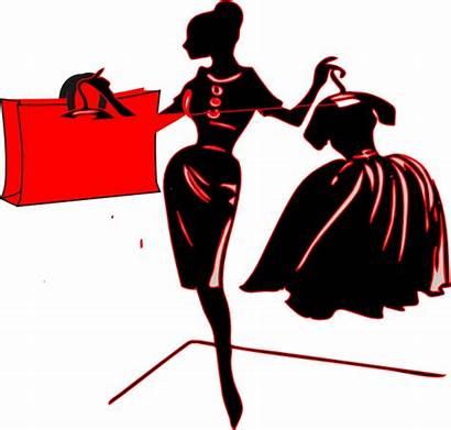 Shopping Bag Clip Negra Bolsa Compras Clipart
