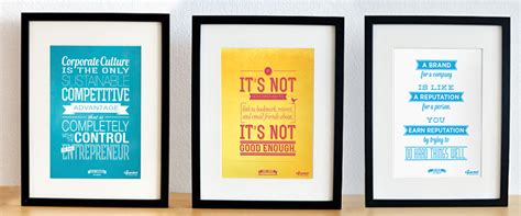 inspired marketing  poster series  marketers