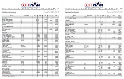 SoftPlan Home Design Software Samples