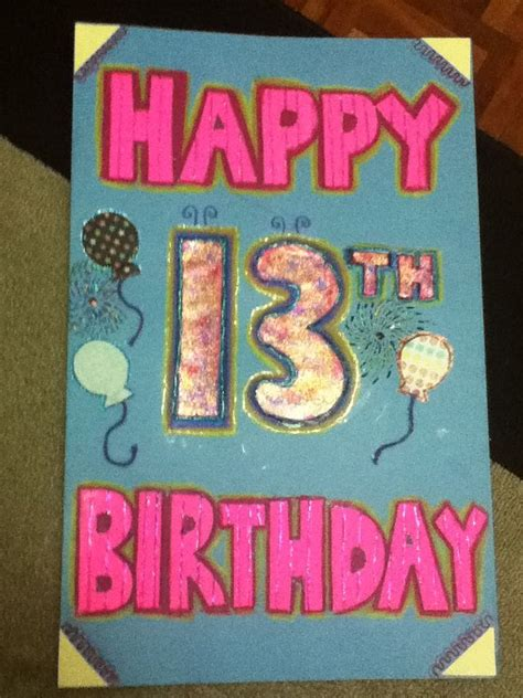 giant poster board card