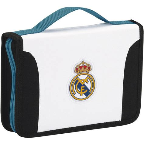 Køb Real Madrid History - Filled Pencil Case - 34 pcs - White