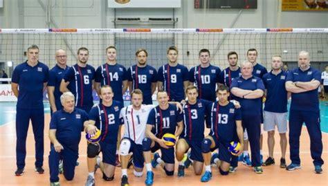 Latvijas volejbola izlase PČ kvalifikācijā piedzīvo ...