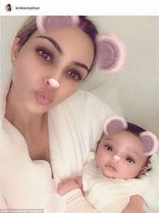 USA: Kim Kardashian shares FIRST photo of baby girl ...
