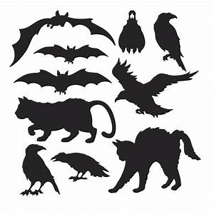 6 Best Images of Printable Halloween Silhouettes - Free ...