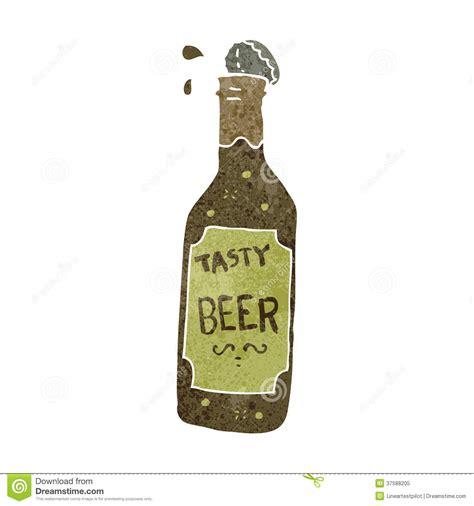 cartoon beer bottle retro cartoon beer bottle stock vector illustration of