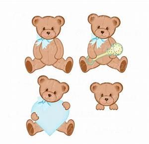 Teddy bear clip art, cute, bear, baby bears, digital art ...