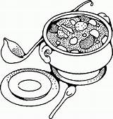Soup Coloring Pages Bowl Drawing Tureen Vegetable Yummy Printable Sheets Pot Getdrawings Kidsdrawing Popular Banana Vegetables Age Soups Getcolorings Anycoloring sketch template