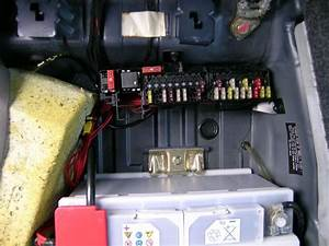 Mercedes E Class Fuse Box Location