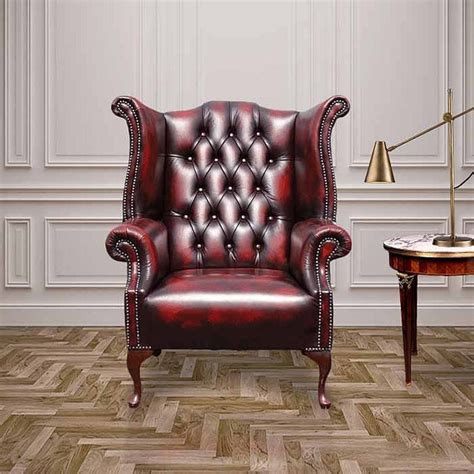 Chesterfield Armchair Uk by Oxblood Chesterfield 1780 High Back Wing Chair