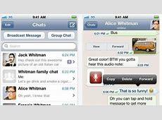 Whatsapp Messenger para iPhone, de nuevo gratis por tiempo