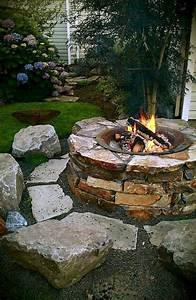 8, Amazing, Diy, Backyard, Fire, Pits, Design, Ideas, U2013, Moetoe