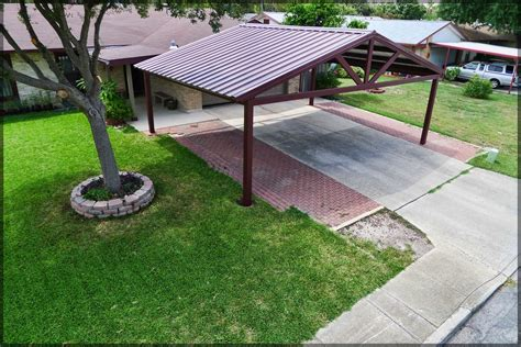 Metal Carport Roof by With Your New Carport You Will Not To Scrape A