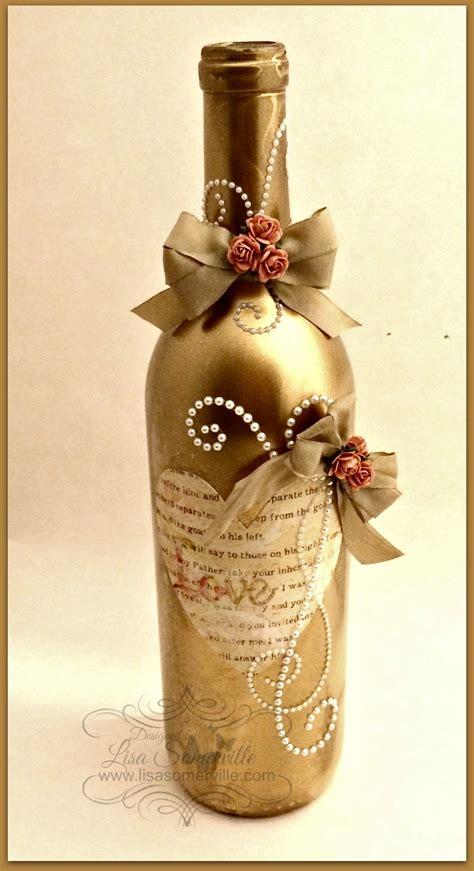 Decorate Wine Bottles - altered wine bottle craftwell