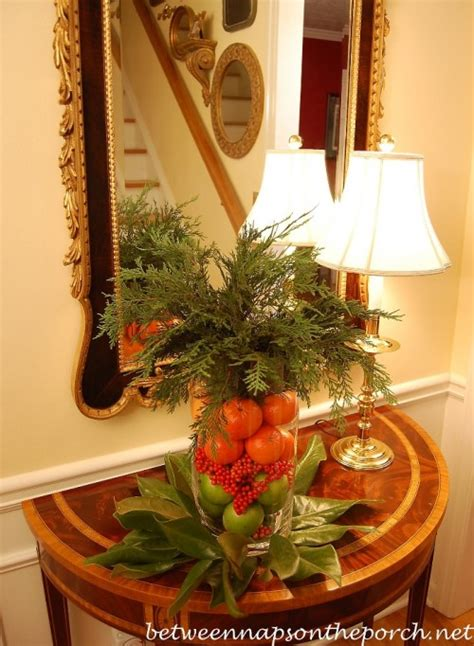 easy christmas holiday centerpiece    minutes