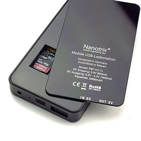 Nanotrix Power Bank Kamera Hd V20 2015 Mit