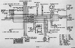 Honda Cb100 Electrical Wiring Diagram  U2013 Circuit Wiring