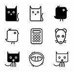 Icon Icons Kawaii Vector Packs Transparent Svg