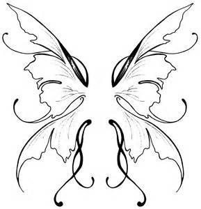 Fairy Butterfly Wings Tattoo