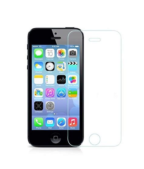 iphone 4s front iphone 4 4s front tempered glass screen guard by dajum