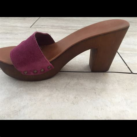 plum colored shoes 79 nine west shoes nine weat plum color wooden