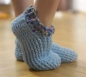 Chunky Adult Slippers Crochet Pattern Free