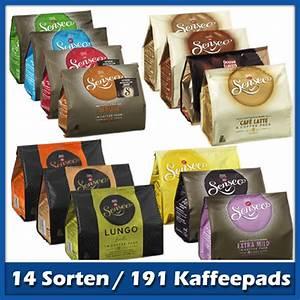 Beste Pads Für Senseo : senseo kaffeepads probierpaket mit 14 sorten 188 pads ~ Michelbontemps.com Haus und Dekorationen