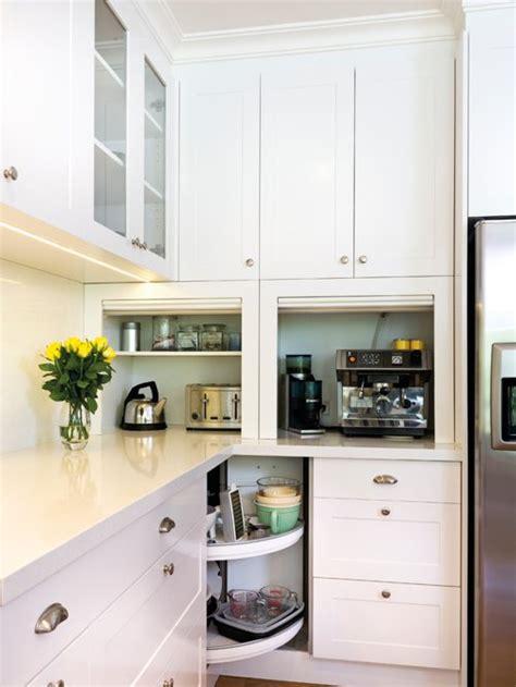 appliance garage kitchen cabinet home design ideas