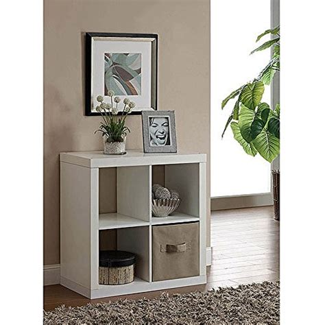 better homes and gardens cube organizer desk multiple finishes versatile better homes and gardens square 4 cube organizer
