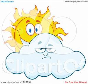 Partly Cloudy Clipart - Clipart Kid