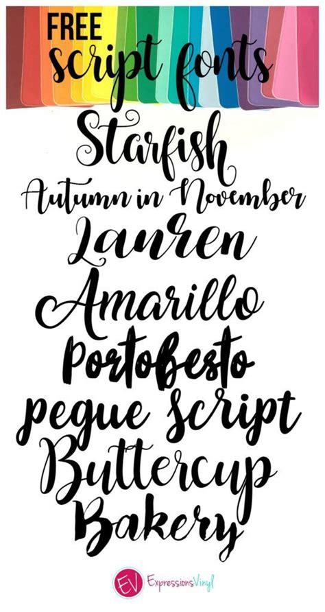 beautiful  script font roundups  font fun fonts cricut fonts script fonts