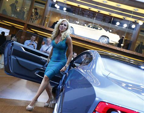 Cars, Models At Frankfurt 2013 Motor Show[8] chinadaily.com.cn