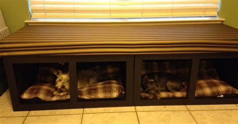 dog bed window seat    home projects