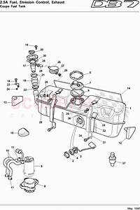 Aston Martin Db7  1997  Coupe Fuel Tank Parts