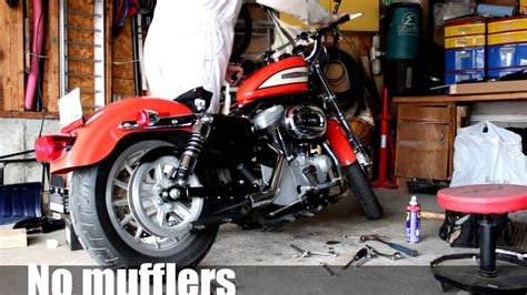 Modification Harley Davidson Roadster by 2005 Harley Davidson 1200 Sportster Roadster Exhaust