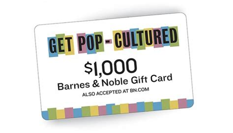 Get Pop-cultured With Barnes & Noble