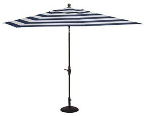 rectangular umbrella with aluminum pole sunbrella r