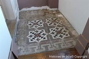 renovation de carreaux de ciment 1 1 histoires de bois With faire des carreaux de ciment